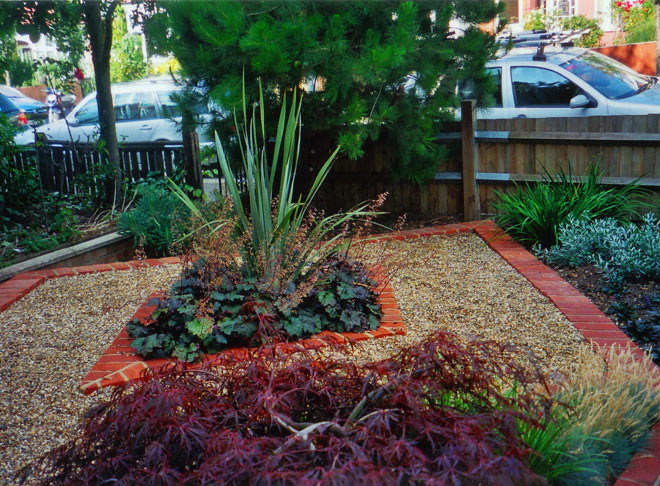 Tim mackley low maintenance plan drawing for Low maintenance garden designs for small gardens