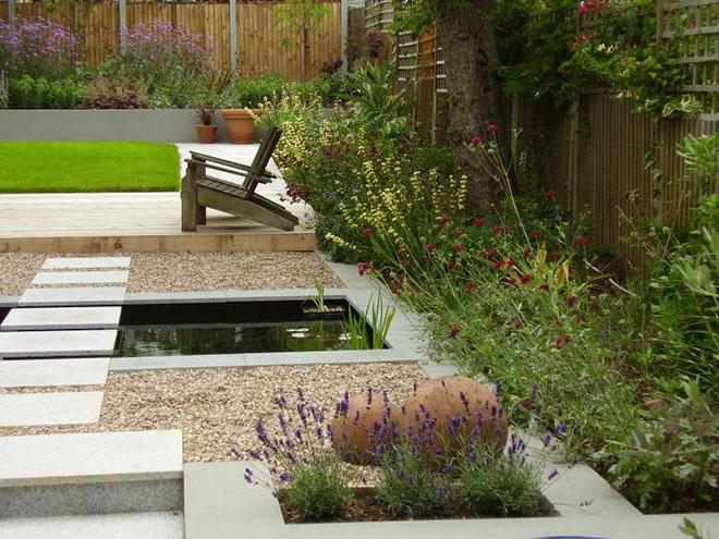 Tim mackley contemporary garden design for Contemporary garden designs for small gardens