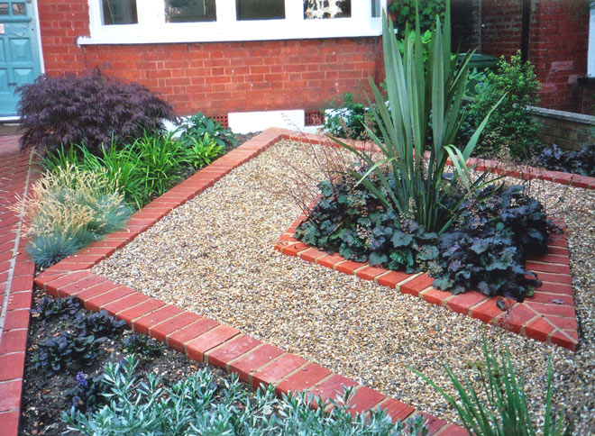 Low Maintenance Front Garden Tim Mackley Garden Design