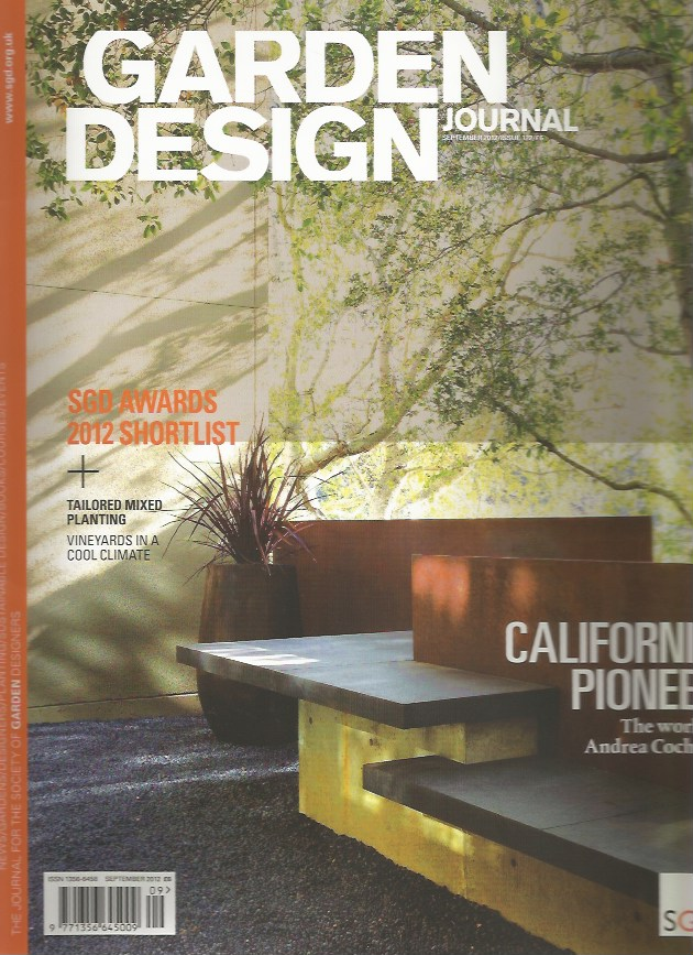 Garden Design Journal Sept 2012 Tim Mackley Garden Design